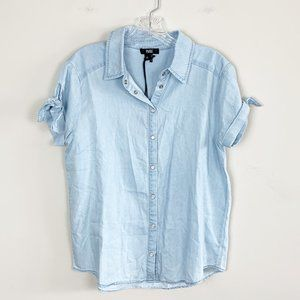 Paige | NWT Avery Shirt in Cadie Wash chambray XS